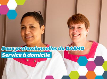 Rencontre avec Sophie Boulate, aide médico-psychologique et Séverine Triart, aide-soignante au DASMO