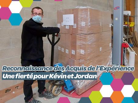 Jordan et Kévin fiers d'avoir obtenu leur RAE, nous racontent leur expérience !