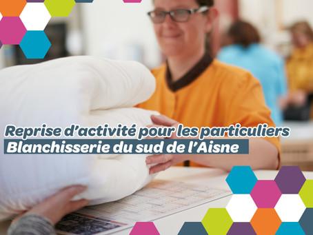 Blanchisserie du sud de l'Aisne - reprise d'activité pour les particuliers