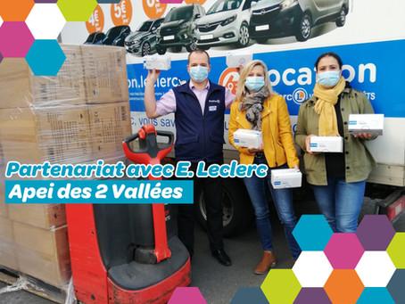 🤝Partenariat avec le centre E.Leclerc de Villers-Cotterêts🤝