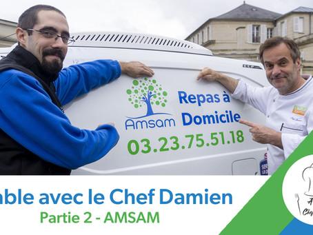 A table avec le Chef Damien - Partie 2