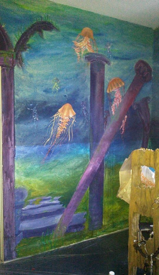 Jellyfish Wall