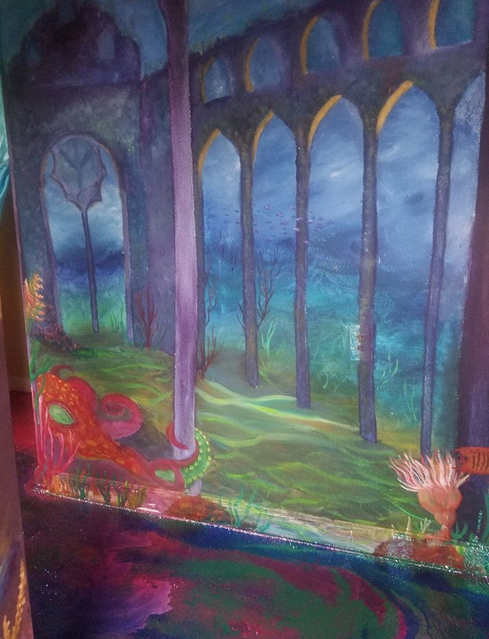 Mermaid Wall