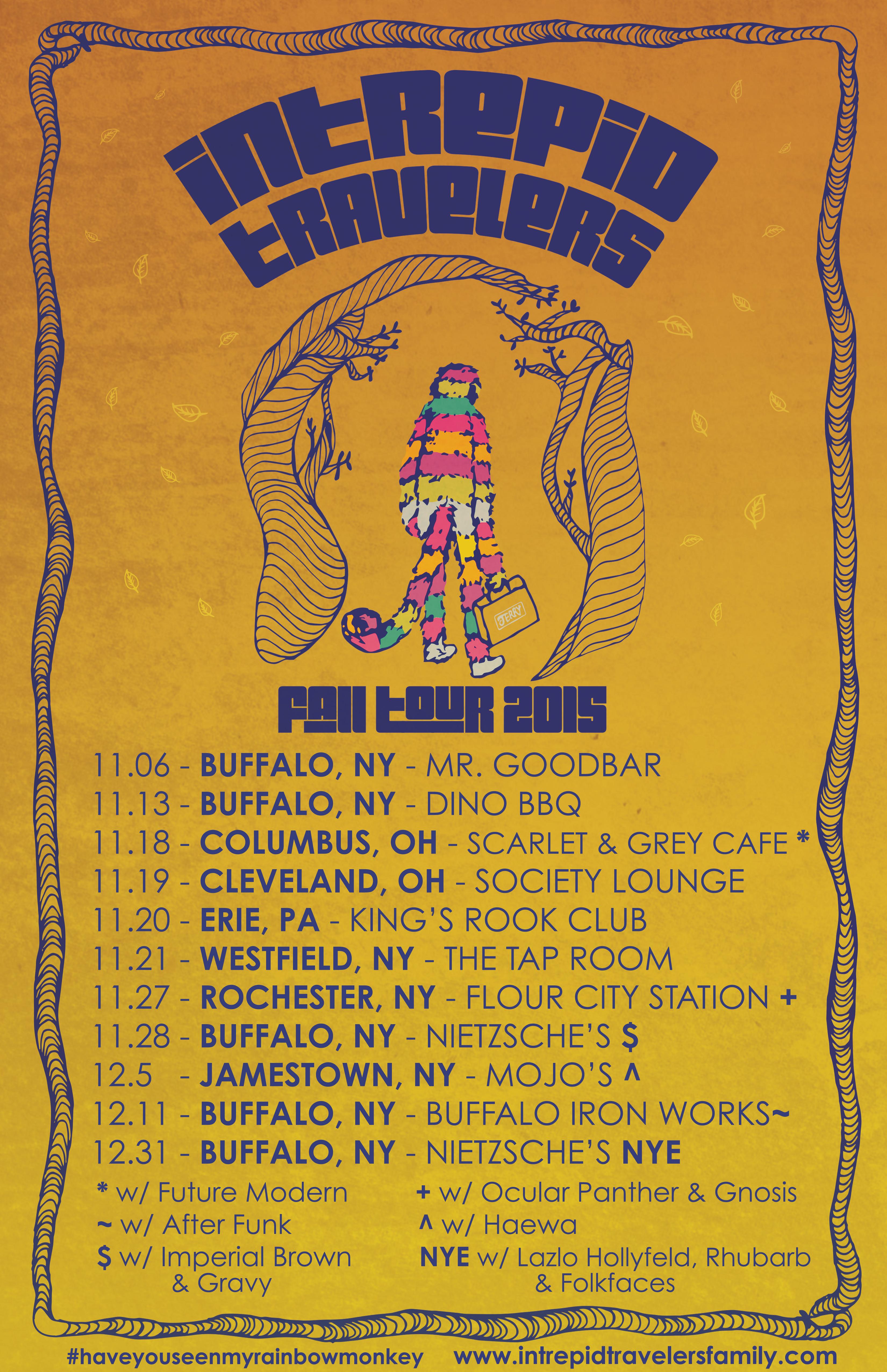 2015 Fall Tour - Leg 2