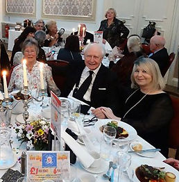 Sue & John Fisher with Averil at annual