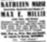 1921-07-28 Kathleen&Max Ad.png