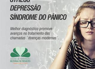 Stress, Depressão e Síndrome do Pânico - Armas modernas contra inimigos antigos.