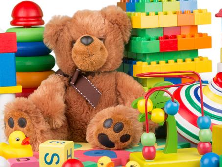 Brinquedos não tem gênero