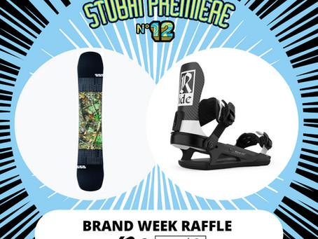K2 & Ride Snowboards Brandweek Raffle