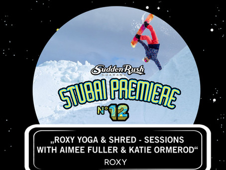 Roxy Yoga & Shred-Sessions mit Aimee Fuller & Katie Ormerod