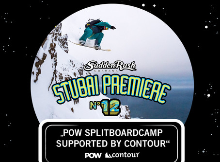 POW SPLITBOARDCAMP SUPPORTED BY CONTOUR