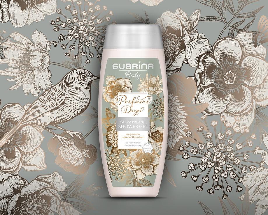 Shower Gel Design Perfume Drops