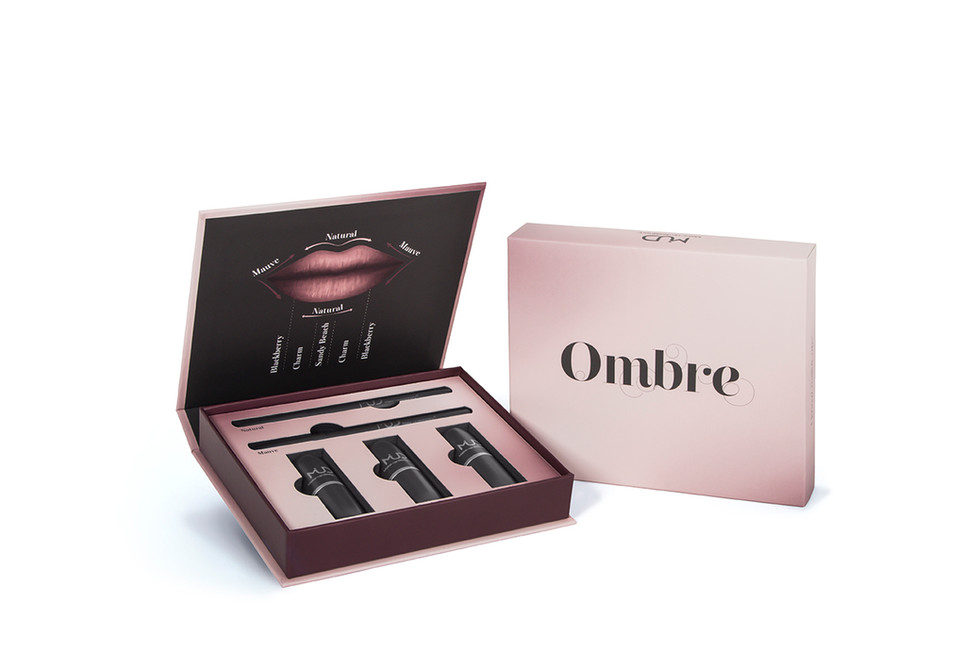 Ombre Palette Packaging