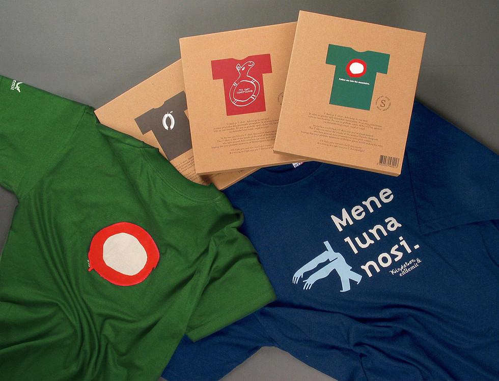 T-shirt design for promoting Slovenia