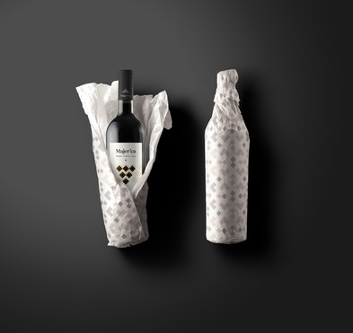 Majerca Wine lable design