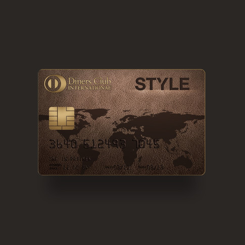 Diners Style Credit Card