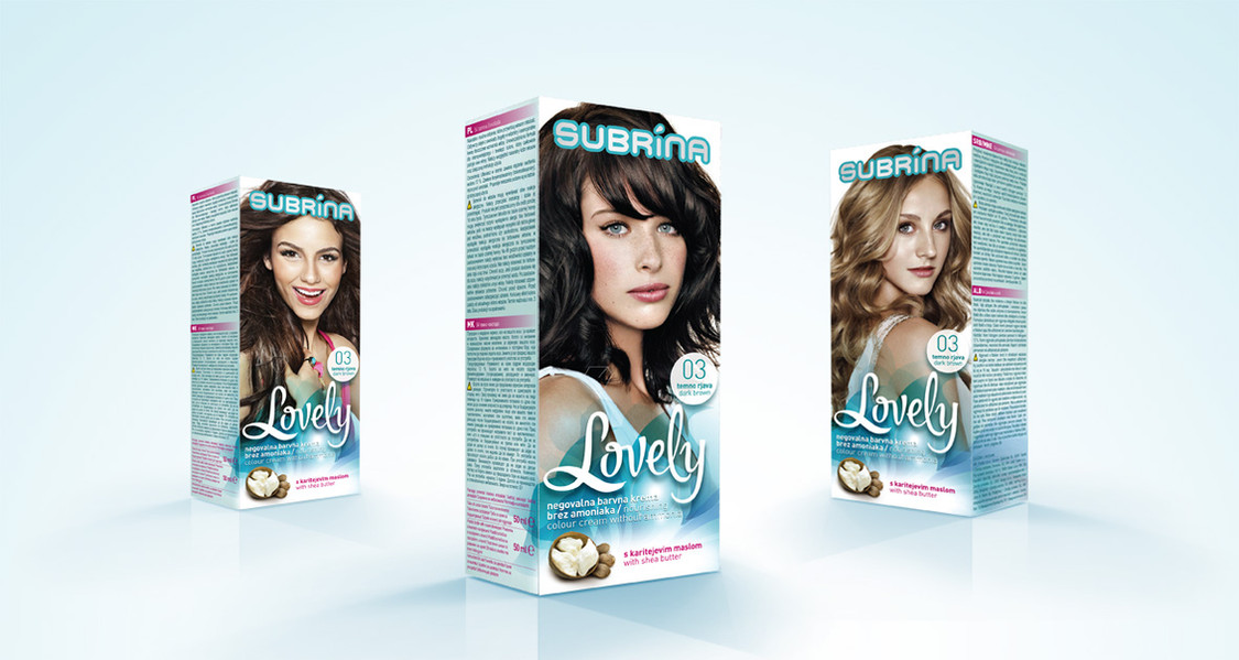 Subrina Lovely packaging design proposal