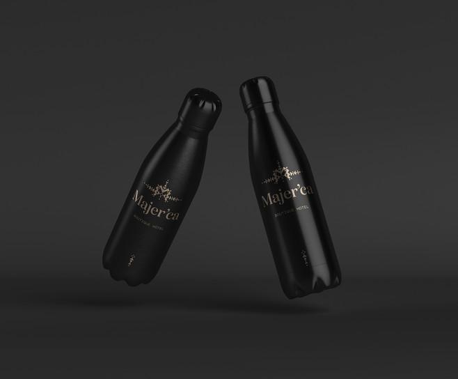 Aluminium Bottle for Hotel Majerca