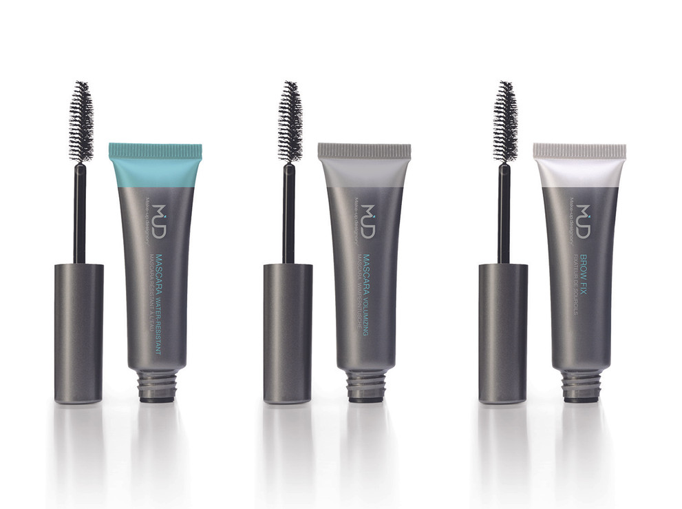 Mascara & Brow Fix Tube design