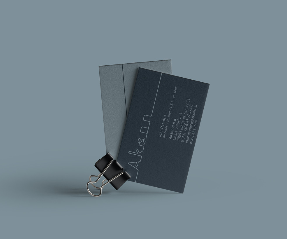 Akson business card