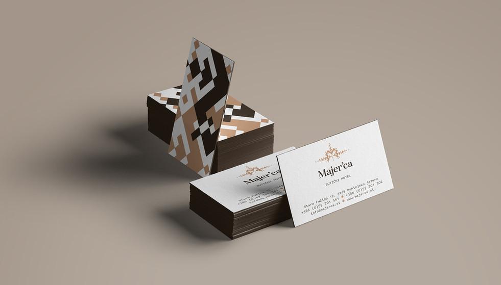 Majerca business card