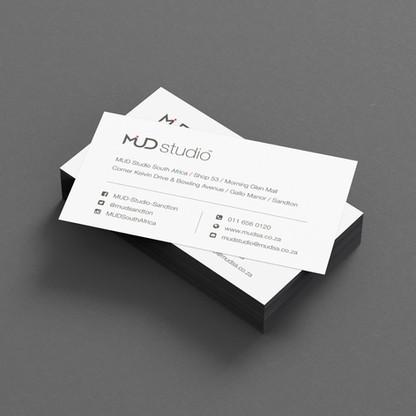 MUD Studio Business Card