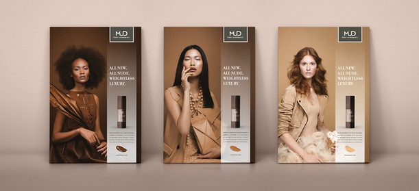 Liquid Foundation Ad series