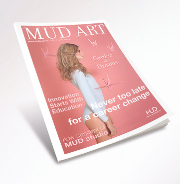 MUD Art Magazine Design and Production