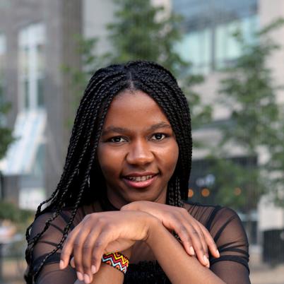 Entrepreneurship Award - Hermine Mbondo