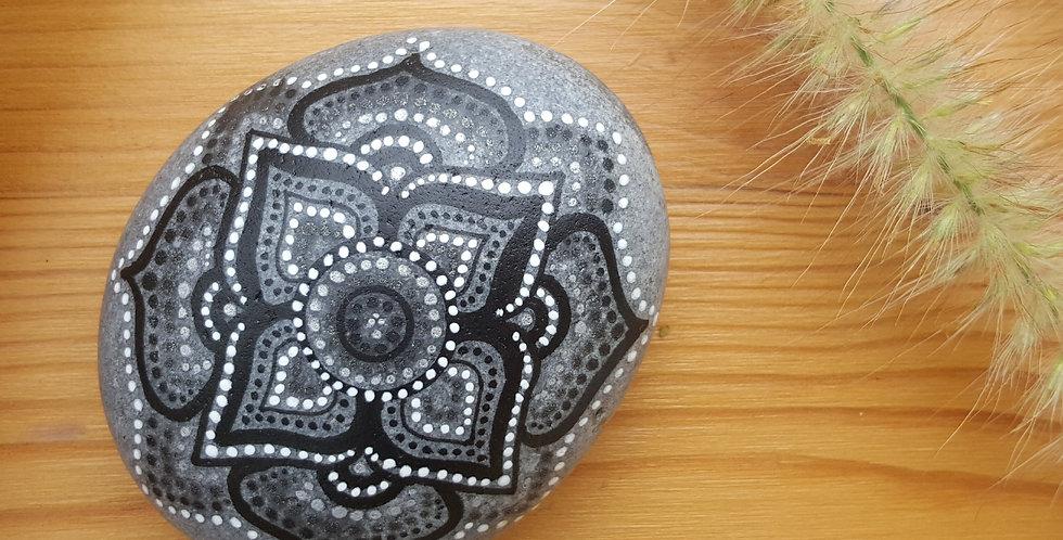 Mandala Meditation Stone #93017B