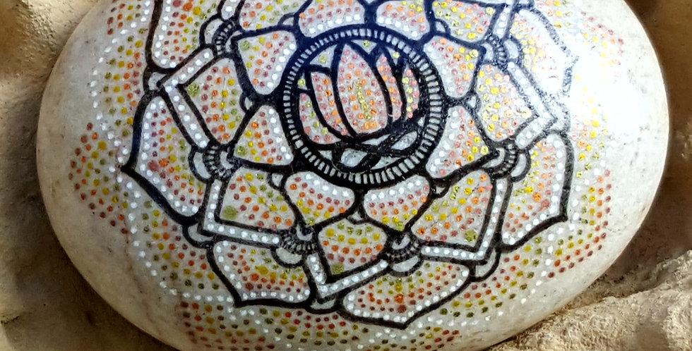 *SOLD* Custom Mandala Stone #471
