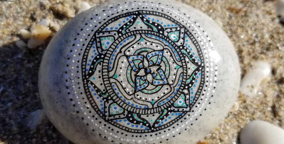 *Sold* Mandala Meditation Stone