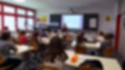 """Швейцарская организация """"DAS TIER + WIR"""" проводит занятия в школе"""