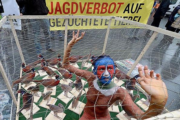 Зоозащитная акция VGT, Австрия