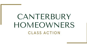 Canterbury Homeowners Class Action Launched