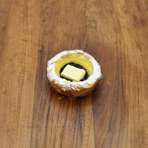 Blueberry Cream Cheese Kouign Amann