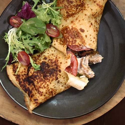 Grilled Chicken Crepe