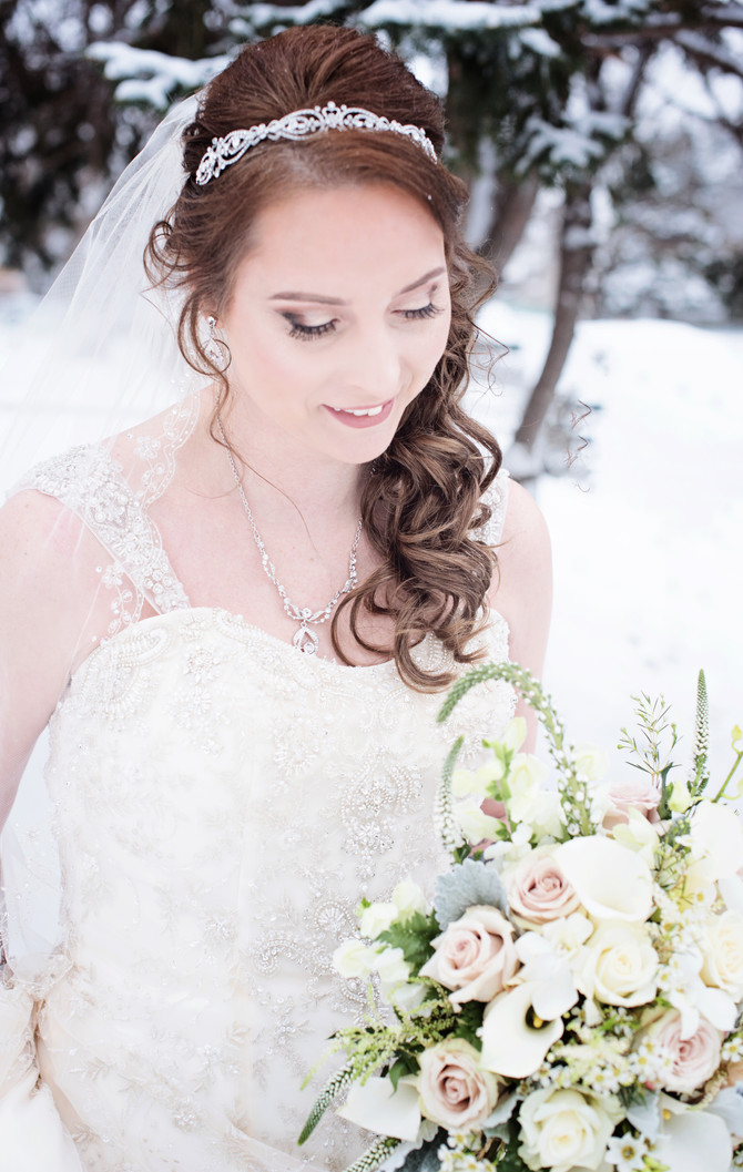 A Snowy Winter's Wedding