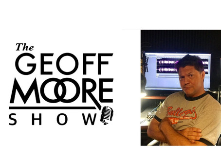 Radio debut with Geoff Moore