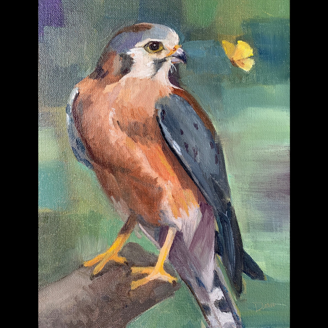 Available - Oil Painting - Take Time to Notice