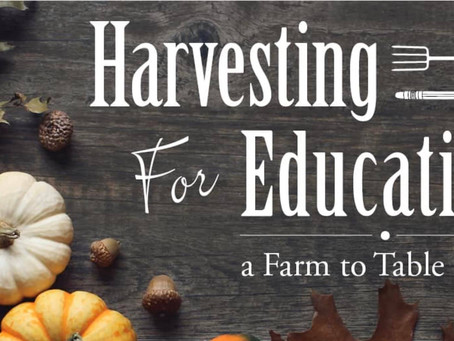 Harvesting for Education - a harvest by and for our community