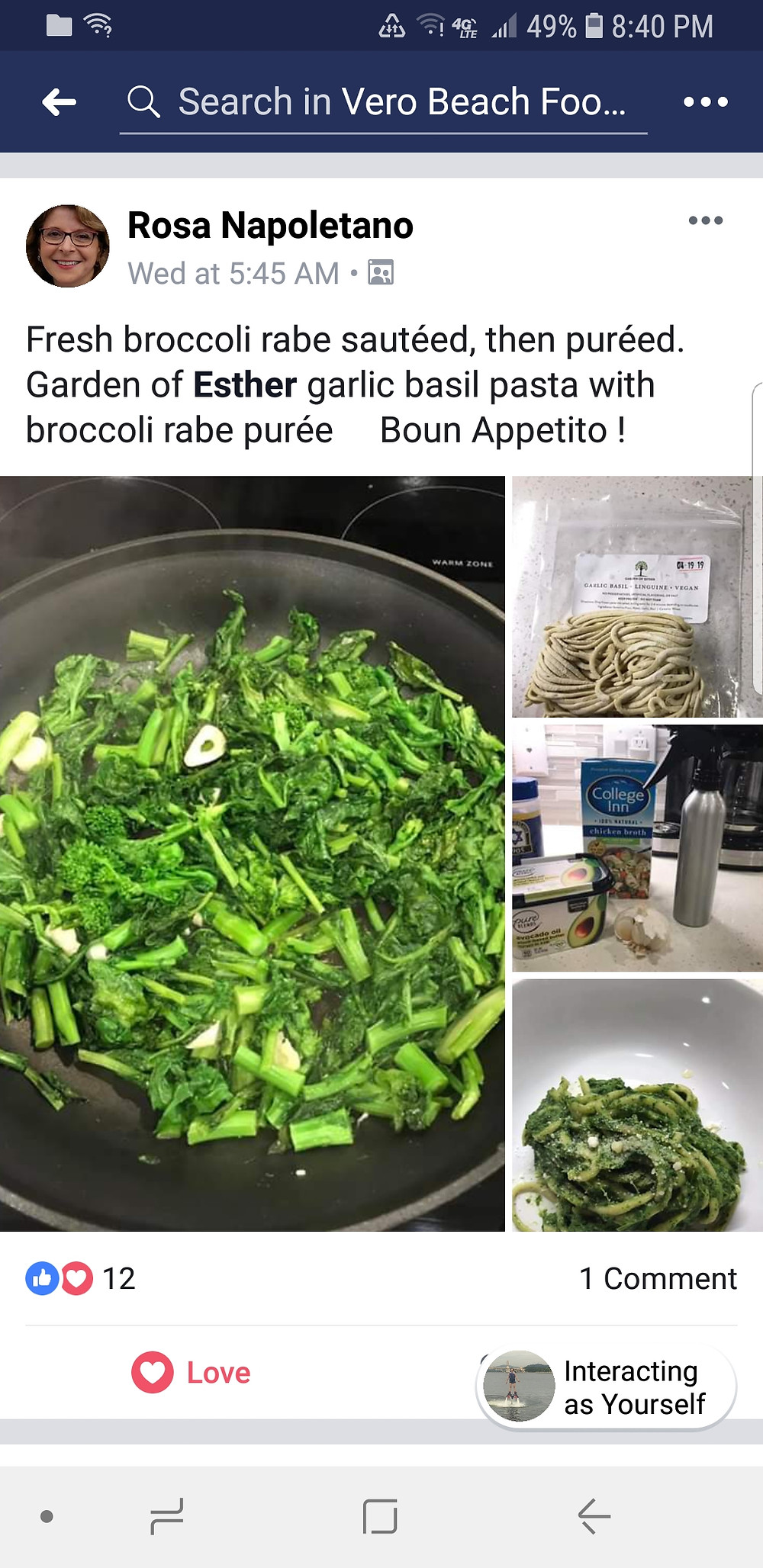 Vero Beach fresh local pasta