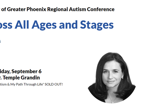 Speaker at Autism Society of Greater Phoenix