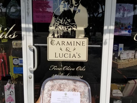 Now in stores!  Carmine & Lucia's