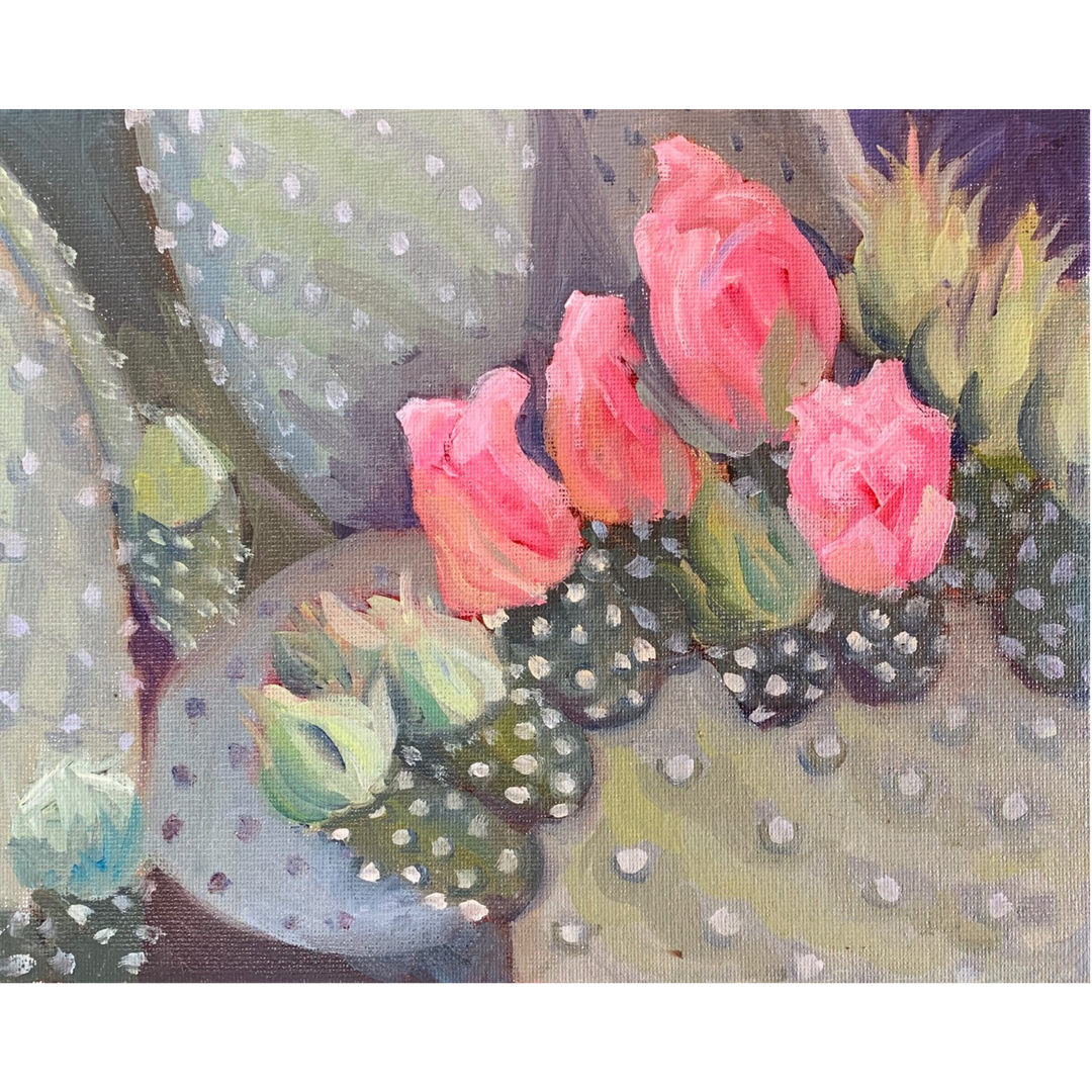 Available - Watercolor Painting - About to Open Blooms
