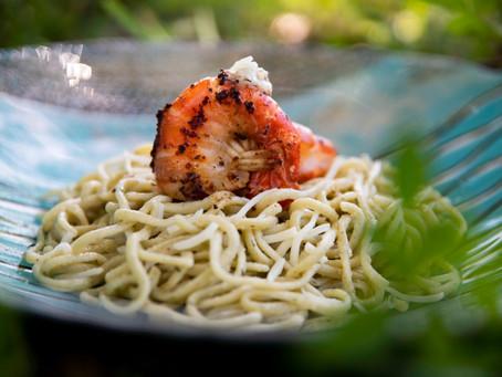 Recipe - Shrimp scampi a la Vickie's Mobile Seafood