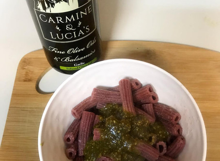 Recipe - Carmine and Lucia's garlic olive oil