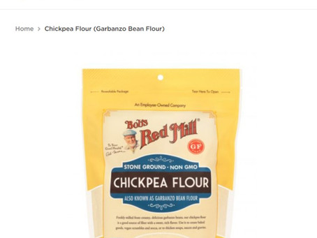 Why Garden of Esther does NOT buy its chickpea flour locally