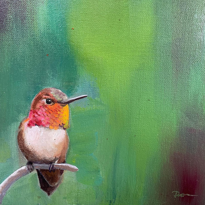 Available - Oil Painting - Feisty Guy