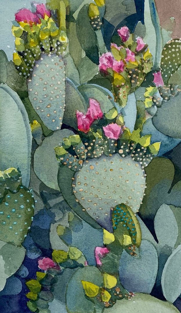 Available - Watercolor Painting - Pink Blooms